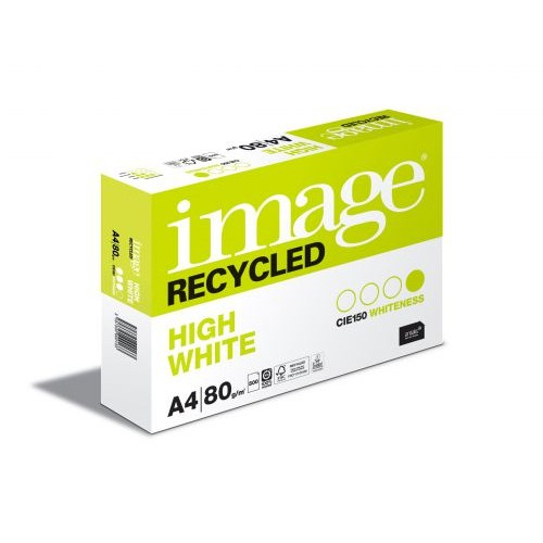 Image Recycled Copier Paper High White A4 80gsm