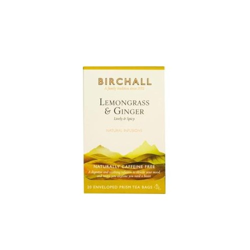 Birchall Lemongrass & Ginger Prism Envelopes 20's