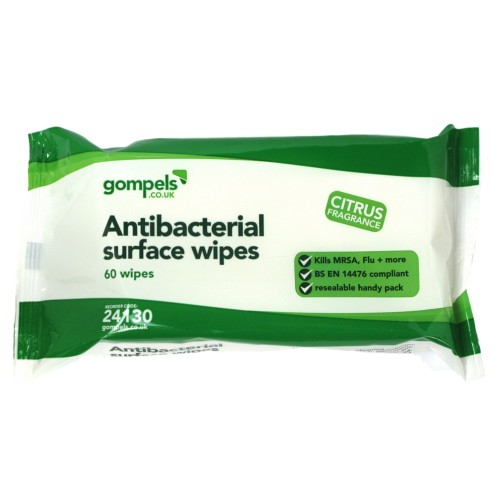 Sanell Antibacterial Wipes 56 Pack