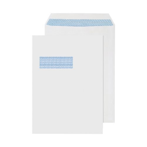 C4 90gsm Window Envelopes  (Box 250)