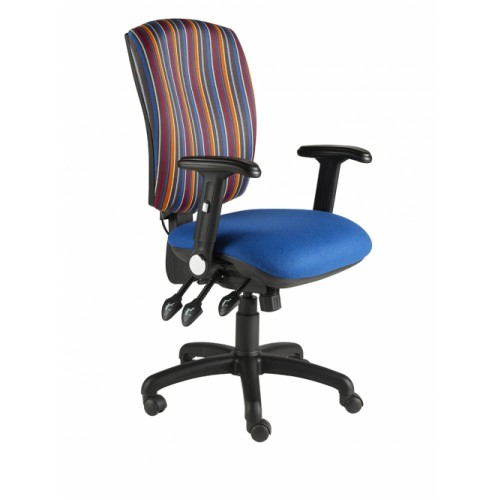 Ocean Square Back Fully Loaded Operator Chair