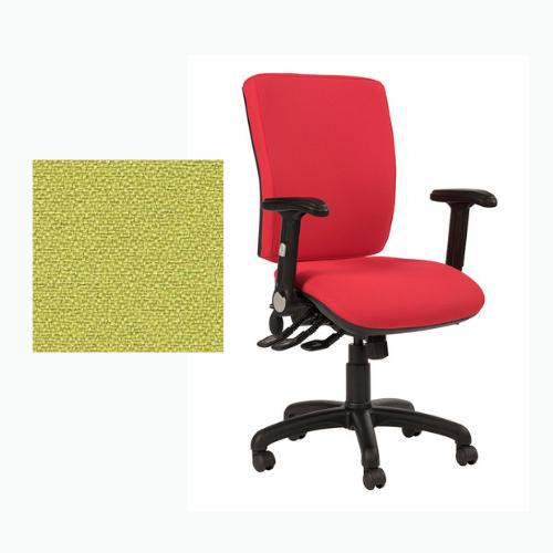 Ocean Square Back Fully Loaded Operator Chair - Phoenix Apple