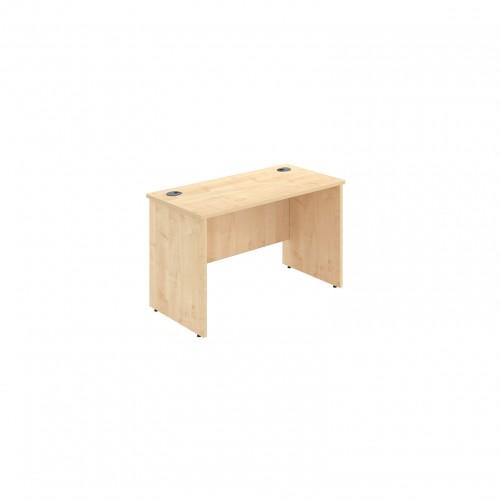 Rectangular Desk, 1200mm x 600mm, Panel End in Walnut MFC