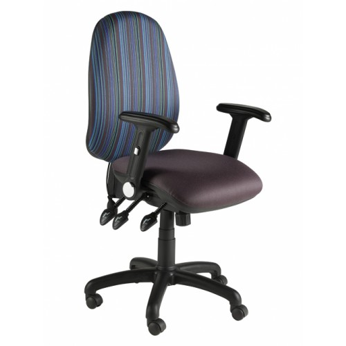 Ocean Round Back Fully Loaded Operator Chair