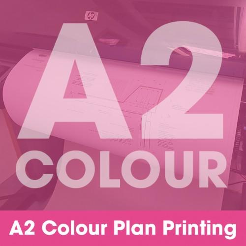 A2 Plan Printing - Colour