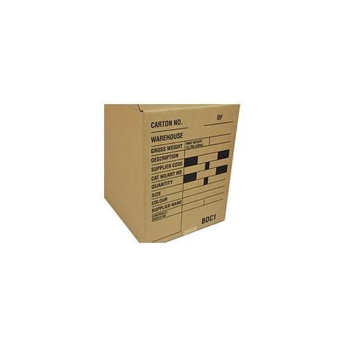 BDC1 SW FASHION CARTON 610 x 280 x 356mm Printed Black