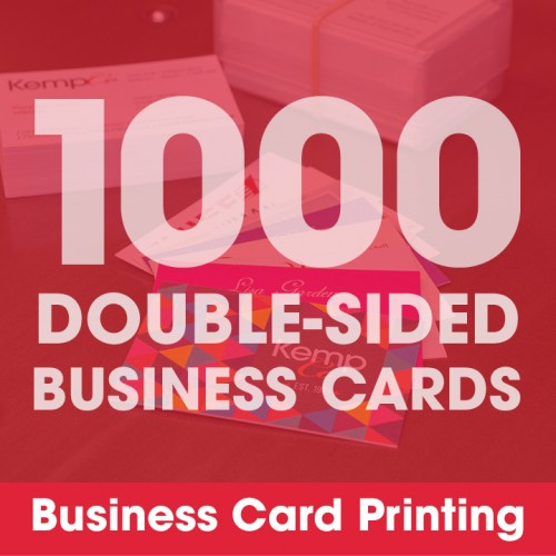 Business Cards - 1000 Double-Sided