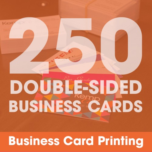 Business Cards - 250 Double-Sided