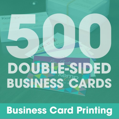 Business Cards - 500 Double-Sided