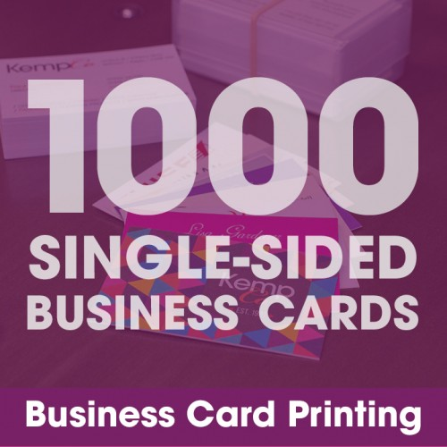 Business Cards - 1000 Single-Sided