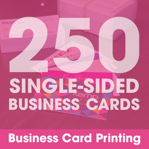 Business Cards - 250 Single-Sided