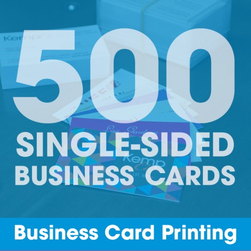 Business Cards - 500 Single-Sided
