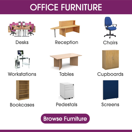 Buy Office Furniture Online From Kempco in Witham, Essex UK