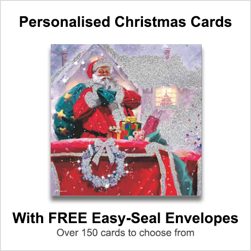 Buy Personalised  Christmas Cards From KempCo in Witham Essex UK