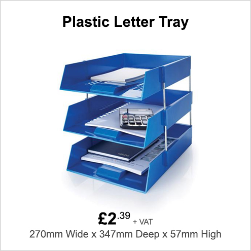 Plastic Letter Tray