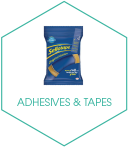 Buy Adhesives and Tapes Online from UK Office Supplies Company Kempco in Witham, Essex