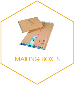 Buy Mailing Boxes Online From UK Stationery and Packaging Suppliers Kempco in Essex