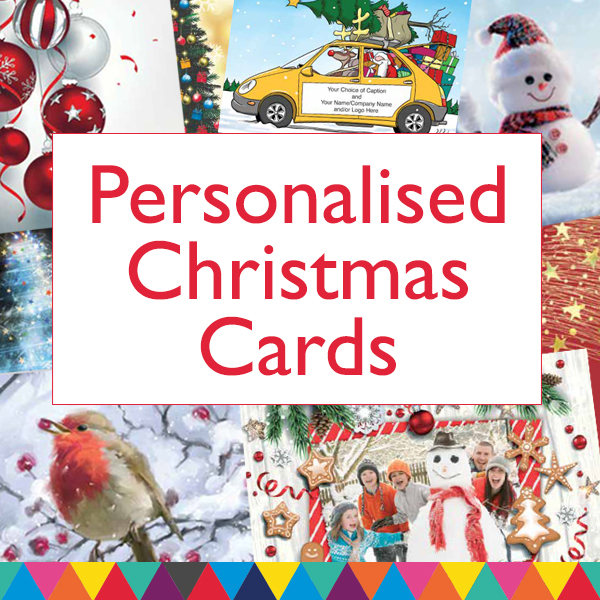 Personalised Christmas Cards in the UK