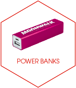 Buy Promotional Power Banks Online From UK Promotional Branded Product Suppliers Kempco
