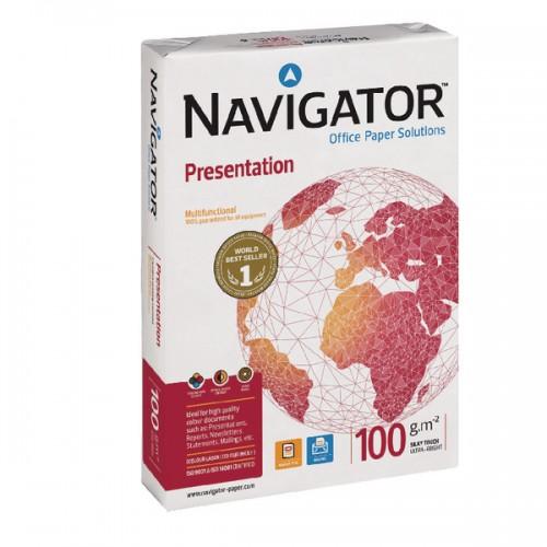 Navigator A4 Presentation Paper 100gsm White 500sh