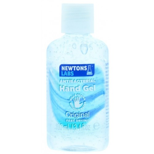 Newtons Labs 100ml Antibacterial Hand Sanitiser Gel (min 70% alcohol content)