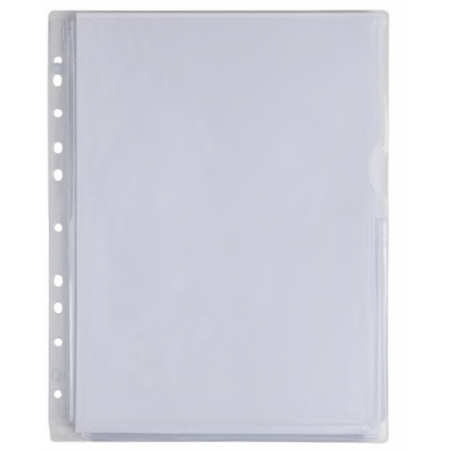 Elba A3 Top Opening 120 Micron Landscape Polypropylene Punched Pocket Clear (Pack 25)