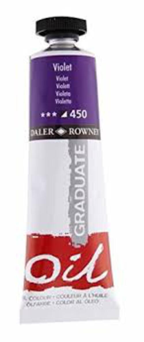 Graduate Oil 38Ml Violet