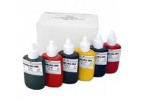 Marbling Inks - Standard Colours - 6 x 25ml Bottles