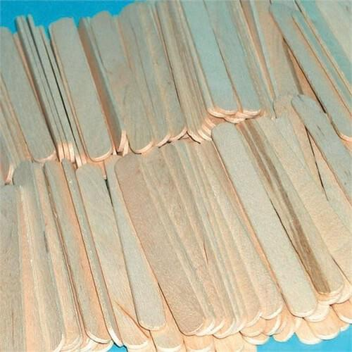 Natural Craft Sticks - 100pk
