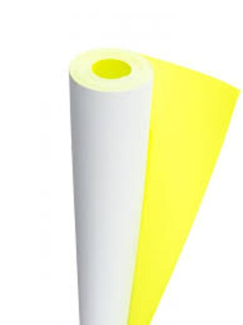 Poster Rolls Extra Wide 1.2m x 15m - Canary Yellow