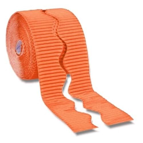 Bordette Plain Scalloped Edge - Orange