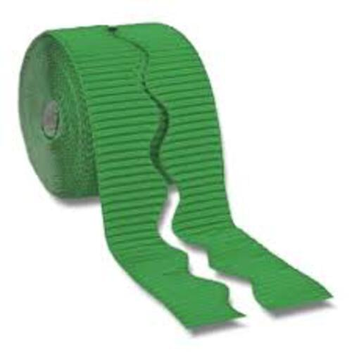 Bordette Plain Scalloped Edge - Apple Green