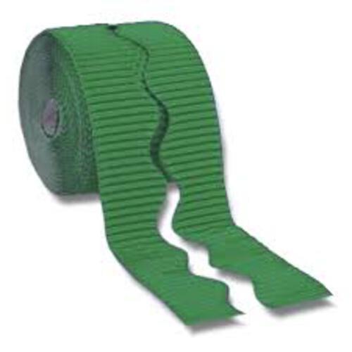 Bordette Plain Scalloped Edge - Emerald Green