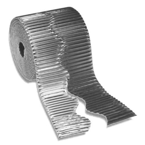 Bordette Metallic Scalloped Edge - Silver