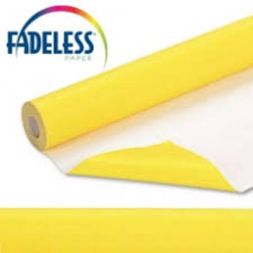 Fadeless Display Paper Bright Yellow Colour - 3.6m