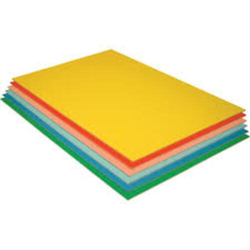 Mounting Paper Sheets Yellow 760mm x 510mm - 25 Pack