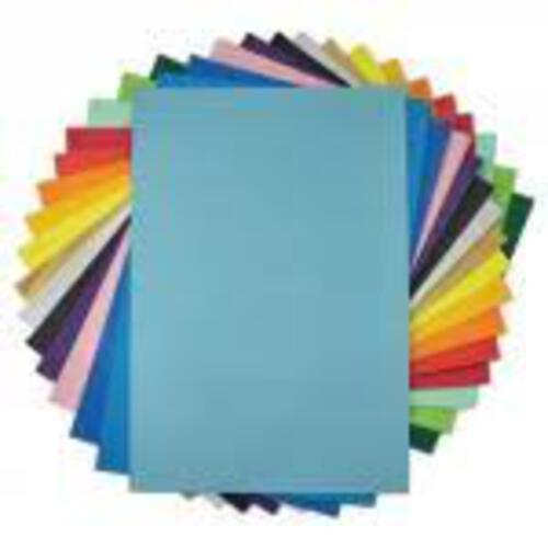 Mounting Paper Sheets Sky Blue 760mm x 510mm - 25 Pack