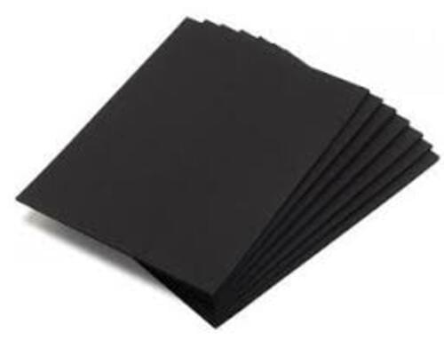 Mounting Paper Sheets Black 760mm x 510mm - 25 Pack