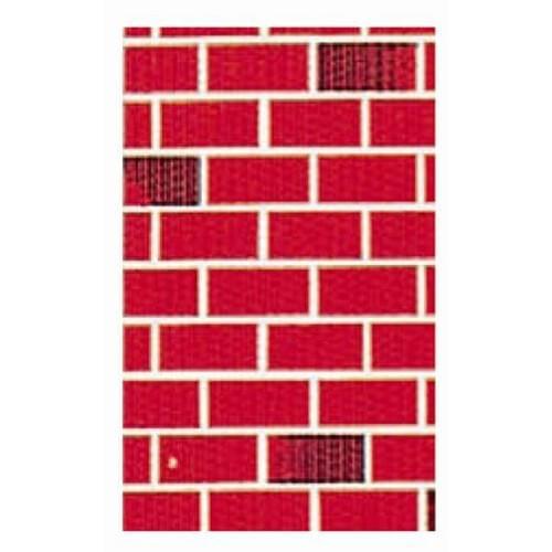 "Design Paper Rolls - Two-Tone Brick - 48"" x 50ft"