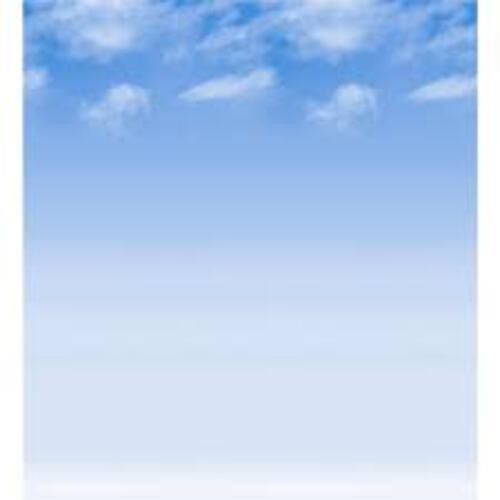 Design Paper Rolls - Wispy Clouds