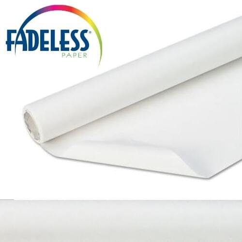 Fadeless Display Paper White Colour - 15m