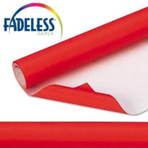 Fadeless Display Paper Flame Colour - 3.6m