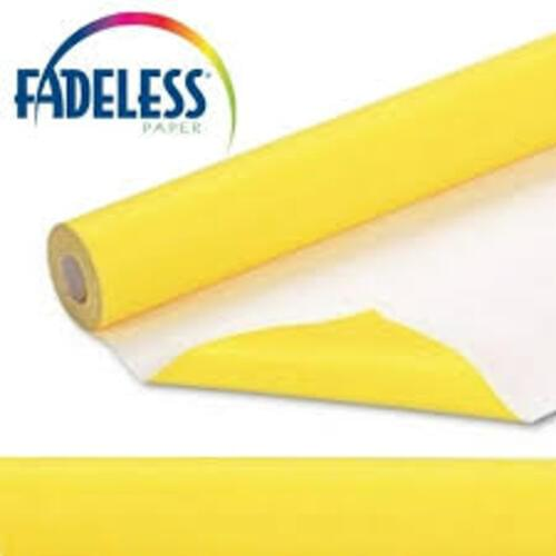 Fadeless Display Paper Canary Yellow Colour - 3.6m
