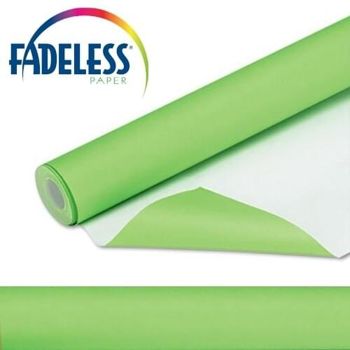 Fadeless Display Paper Nile Green Colour - 3.6m