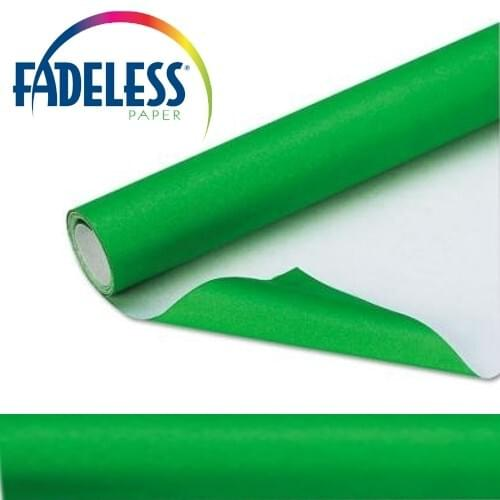Fadeless Display Paper Apple Green Colour - 3.6m