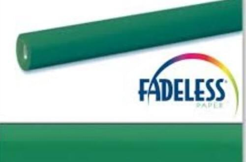 Fadeless Display Paper Emerald Green Colour - 3.6m