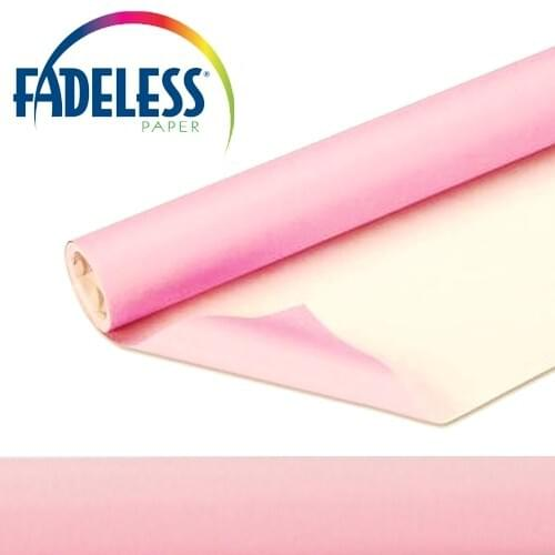 Fadeless Display Paper Pink Colour - 15m