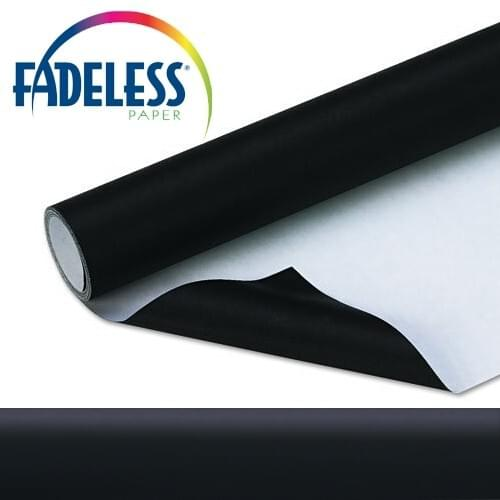 Fadeless Display Paper Black Colour - 15m