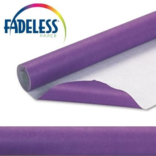 Fadeless Display Paper Violet Colour - 15m