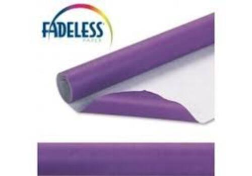 Fadeless Display Paper Violet Colour - 3.6m